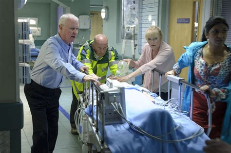 Josh returns to Casualty - actor Ian Bleasdale rejoins the