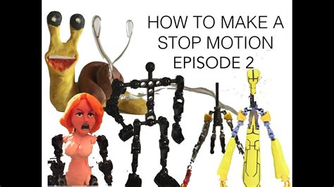 How to Make a Stop Motion Episode 2: Puppets and Props