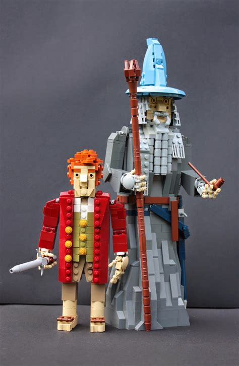 The Company of Thorin Oakenshield… built in Lego   Hobbit