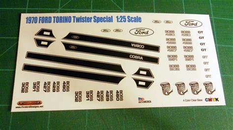 1970 Ford Torino Twister Special 1:25 Scale