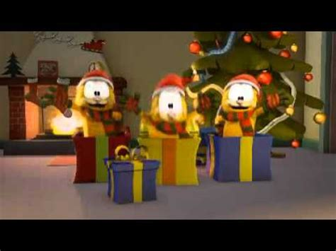 Garfield - Merry Christmas to all - YouTube