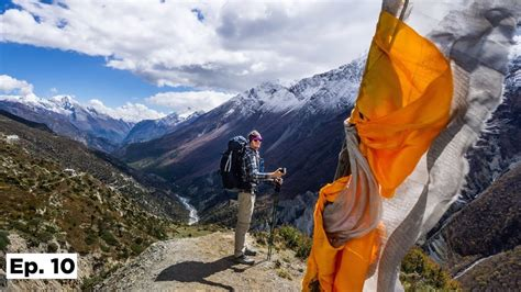 Hiking to Tilicho Base Camp on the Annapurna Circuit in