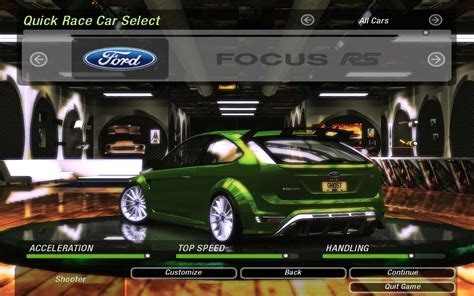 Need For Speed Underground 2 Ford Focus RS | NFSCars