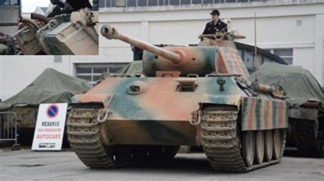 Chilling German Panther Tank in Action! - Listen the Start
