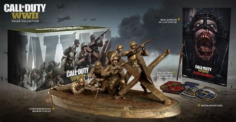 Call of Duty: WWII Valor Collection Edition revealed