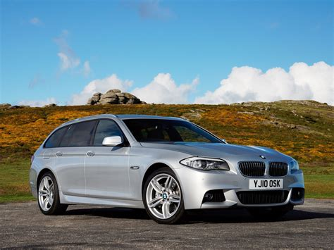 BMW 5-Series 525d Touring M Sports Package F11 UK 2010