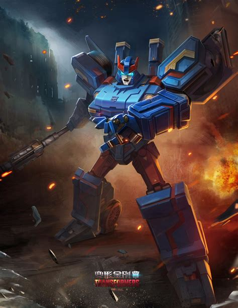 New Transformers: Online Character Posters - Transformers