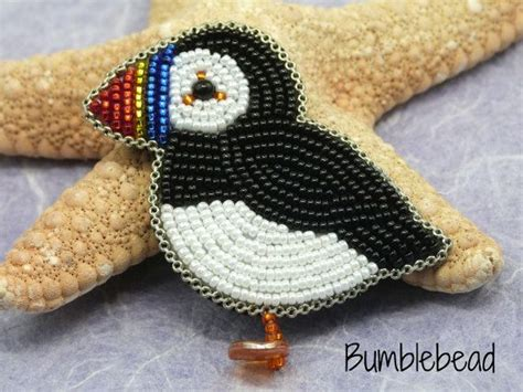 This tutorial explains how to bead embroider a cute little