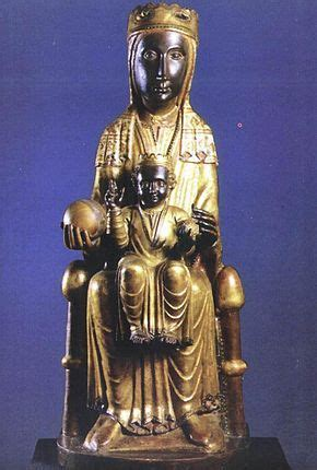 The World in her Hand | Romanesque sculpture, Statue