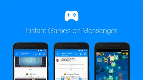 Facebook's Messenger games are now available to everyone