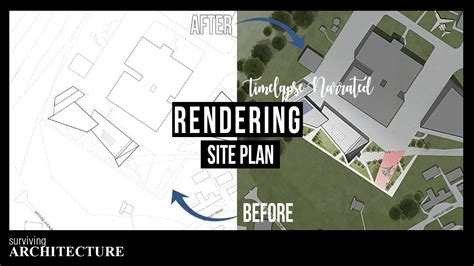 How to Create an Architecture Site Plan Rendering in