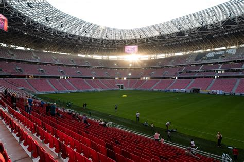 Full house: 68,000 tickets to Puskás Arena inaugural match